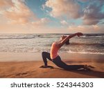 vintage retro effect filtered... | Shutterstock . vector #524344303