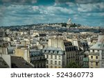 french roofs. beautiful roofs...   Shutterstock . vector #524360773