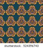 seamless vector pattern. bright ...   Shutterstock .eps vector #524396743