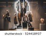 children shop | Shutterstock . vector #524418937