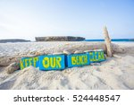 Small photo of Keep our beach clean