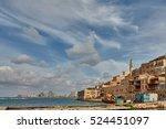 jaffa city sea view   Shutterstock . vector #524451097