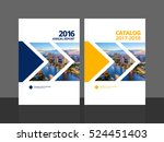 cover design for annual report... | Shutterstock .eps vector #524451403