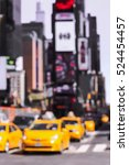 Rush Hour With Defocused Of...