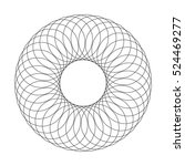 abstract spirograph element.... | Shutterstock .eps vector #524469277