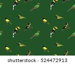 random asian birds wallpaper 3 | Shutterstock .eps vector #524472913