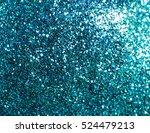 Blue Glitter Texture ...