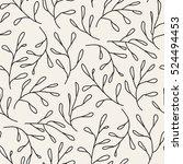 vector seamless pattern. floral ...   Shutterstock .eps vector #524494453