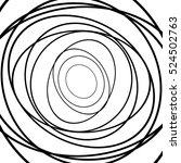 squiggle  squiggly circles ... | Shutterstock .eps vector #524502763