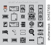 Set Of Barcode Scanner And Qr...