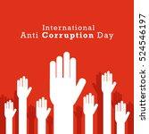 international anti corruption... | Shutterstock .eps vector #524546197