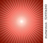 abstract red christmas burst... | Shutterstock .eps vector #524556343