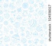 christmas season vector... | Shutterstock .eps vector #524558317