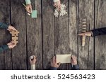 business strategy and... | Shutterstock . vector #524563423