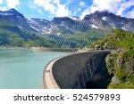 The Moserbooden Dam In Austria...