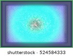 dynamic blue light explosion. ... | Shutterstock . vector #524584333
