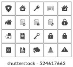 security icons | Shutterstock .eps vector #524617663