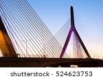 zakim bunker hill memorial... | Shutterstock . vector #524623753