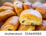 assortment of french pastries | Shutterstock . vector #524640583