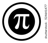 pi symbol icon | Shutterstock .eps vector #524641477