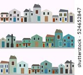 set of different colorful...   Shutterstock .eps vector #524652847