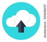 upload icon.cloud upload vector ...