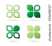 big set of modern icon design... | Shutterstock .eps vector #524698237