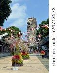 sentosa ilsand  singapore  ... | Shutterstock . vector #524713573