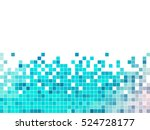 abstract square pixel mosaic... | Shutterstock .eps vector #524728177