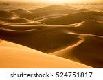 The Golden Dunes Of Erg Chebbi...