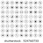 health icons | Shutterstock .eps vector #524760733