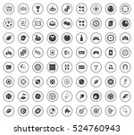 game icons | Shutterstock .eps vector #524760943