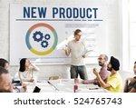 new product development success ... | Shutterstock . vector #524765743