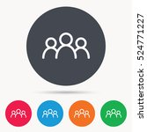 people icon. group of humans... | Shutterstock .eps vector #524771227