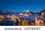 Idyllic City Of Salzburg In...