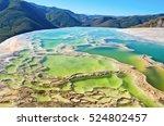 Hierve El Agua  Thermal Spring...
