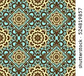 vector seamless pattern with... | Shutterstock .eps vector #524819857