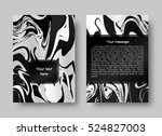 marble design. marbling ink.... | Shutterstock .eps vector #524827003
