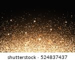 flare background. golden light. ... | Shutterstock .eps vector #524837437