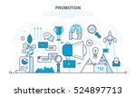 progress in the work  business  ... | Shutterstock .eps vector #524897713