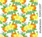 abstract elegance seamless... | Shutterstock . vector #524911207