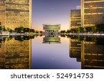 albany  new york  usa cityscape ... | Shutterstock . vector #524914753
