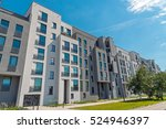 Modern Block Of Flats Seen In...