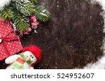 Christmas Fir Tree  Snowman...