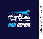 car repair logo | Shutterstock .eps vector #524955457
