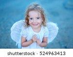 Mischievous Little Angel Girl...