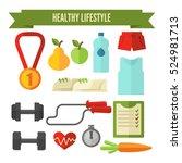 healthy lifestyle icon