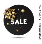 christmas or new year holiday... | Shutterstock .eps vector #524981743