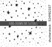 ink hand drawn textures. can be ... | Shutterstock .eps vector #524982337