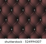 seamless pattern.  red leather... | Shutterstock .eps vector #524994307